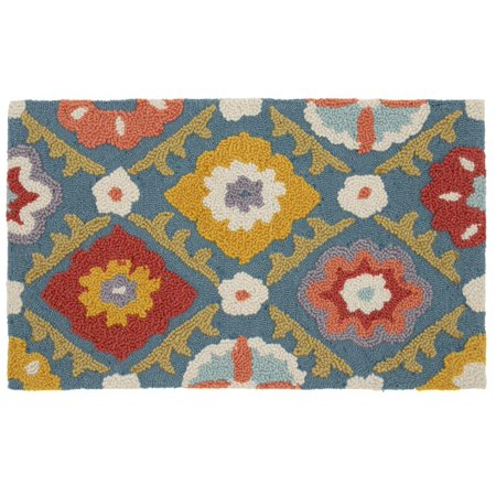 Better Homes and Gardens Floral Rounds Memory Foam Kitchen Rug