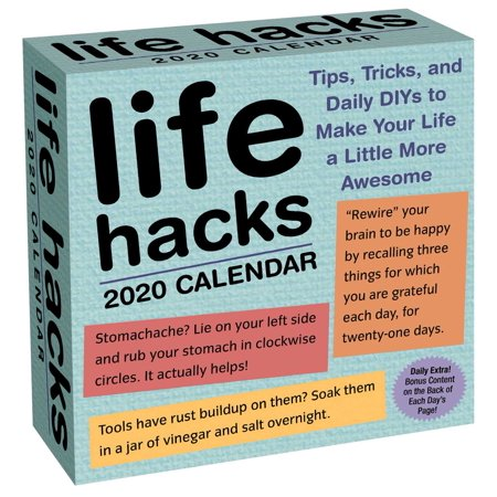 Life Hacks 2020 Day-to-Day Calendar](Diy Halloween Life Hacks)