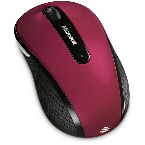 Microsoft Wireless Mobile Mouse 4000, Ruby Pink