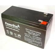 PowerStar PS12-7-52 12V 7Ah Sealed Lead Acid Battery For Apc Es500 Es550 Ls500 Rbc110 Rbc2