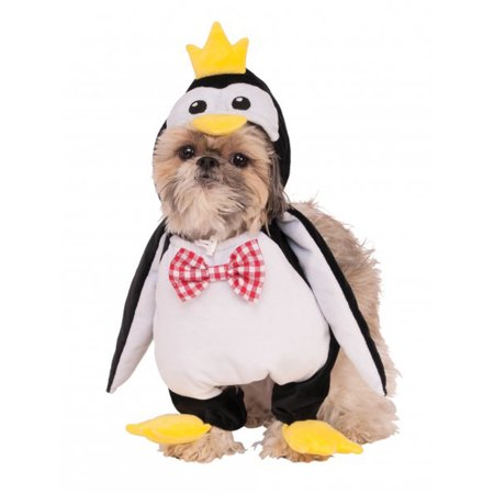 Waling Penguin Animal Black White Bird Pet Dog Cat Halloween Costume](Homemade Dog Halloween Costumes)