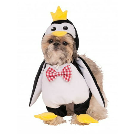 Waling Penguin Animal Black White Bird Pet Dog Cat Halloween Costume (Dog Halloween Costumes Homemade)