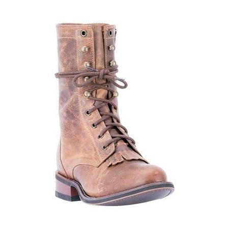 41f8f89508f4 Laredo - Women s Laredo Sara Rose Round Toe Combat Boot 52062 - Walmart.com