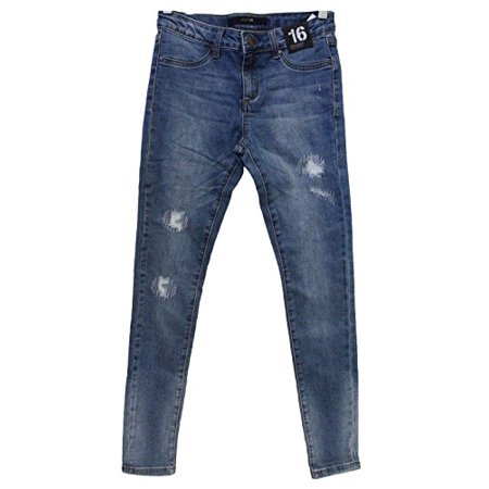 Joe's Jeans Girls Tween Ken Jegging Ultra Slim Fit (Distressed Denim, 14) - - Best Heels Jeans