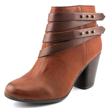Womens Mini Almond Toe Ankle Fashion Boots