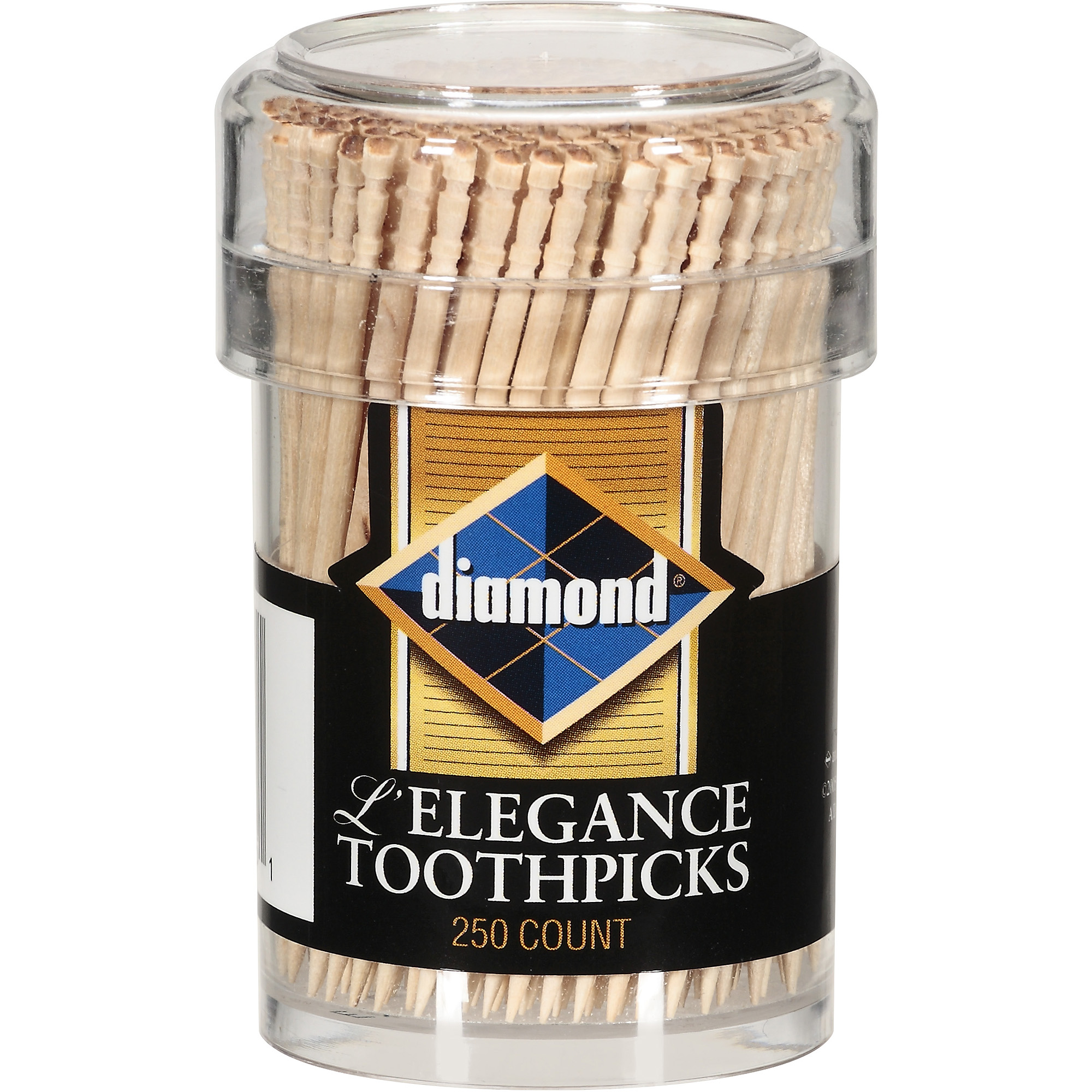 Diamond L'Elegance Toothpicks, 250 count