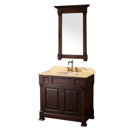 Wyndham Collection Andover 36 inch Single Bathroom Vanity ...