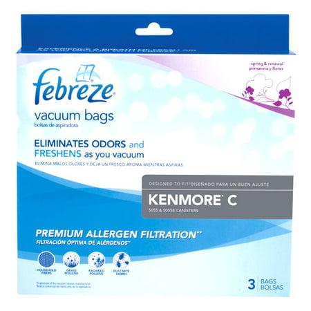 kenmore vacuum bags 50403. kenmore c febreze vacuum bags, 3 pk, 21r5 bags 50403