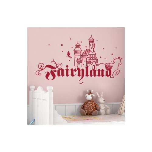Style and Apply Fairyland Wall Decal