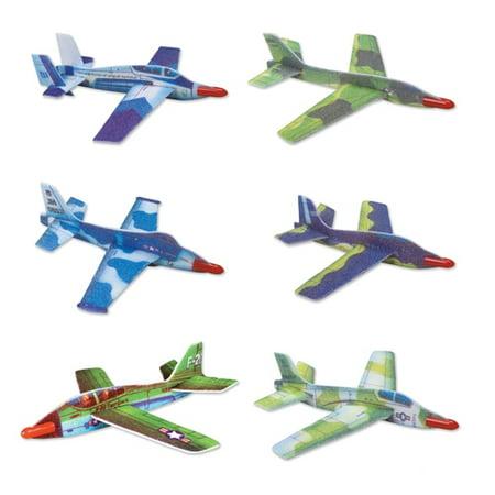 Jet Fighter Glider (Jet Fighter Gliders - 12 per)