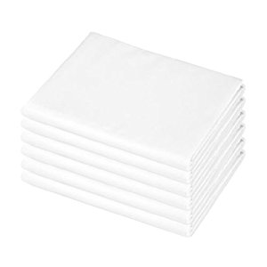 American Baby 100% Cotton Percale Portable Crib Sheet, 6 ...