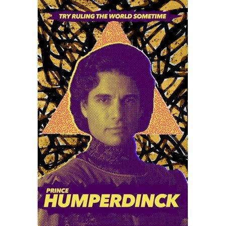 The Princess Bride 30th Anniversary - Prince Humperdinck Poster Wall Art - 30th Anniversary Ideas
