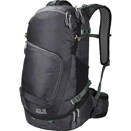 jack wolfskin crosser 26 backpack in black
