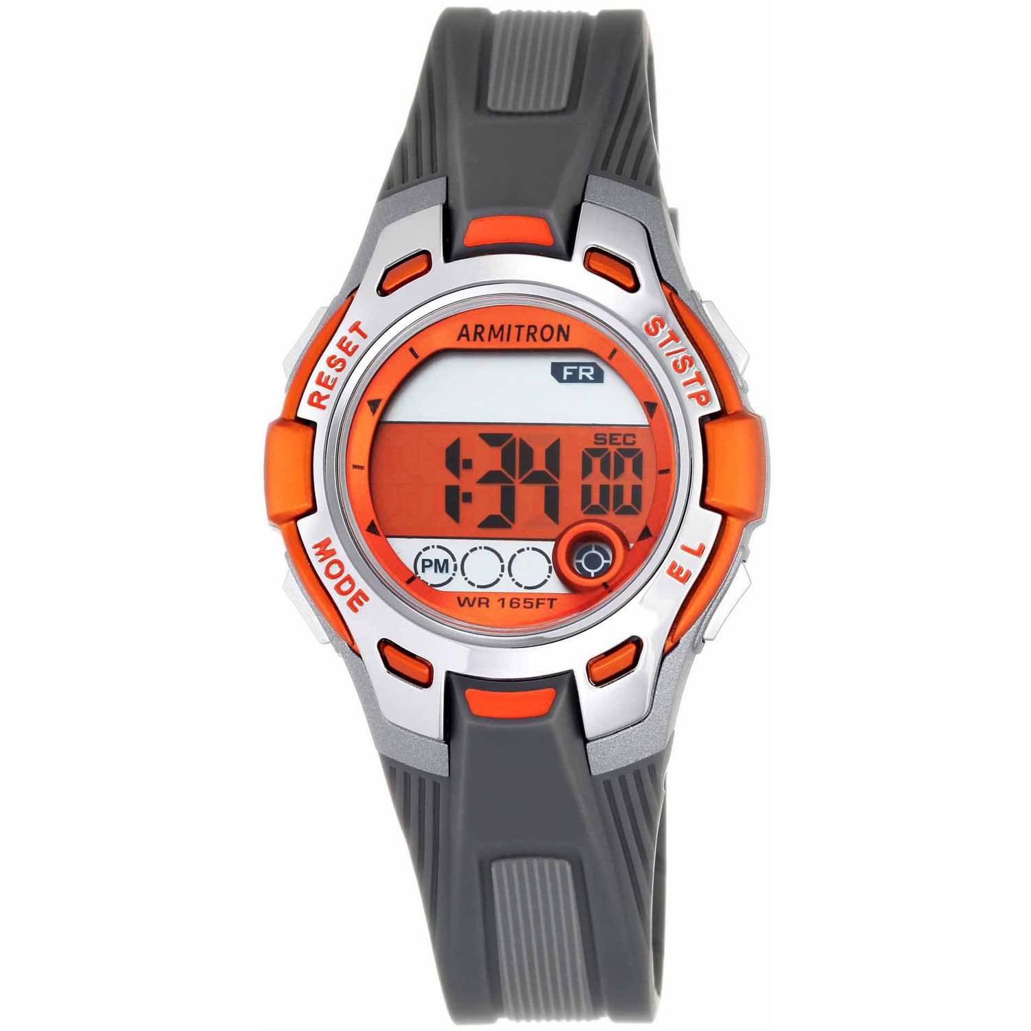 Armitron Unisex Sport Round Watch, Orange