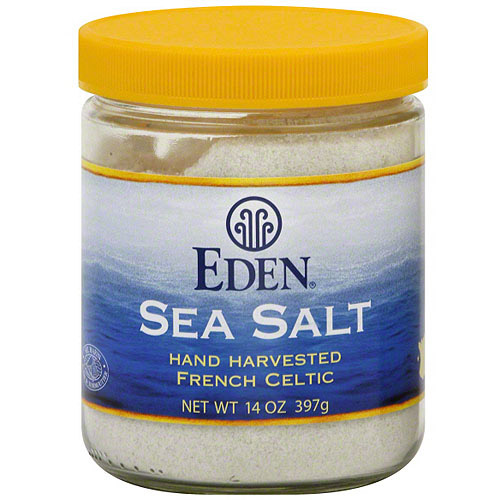 Eden French Celtic Sea Salt, 14 oz (Pack of 6)