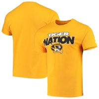 Men's Russell Athletic Gold Missouri Tigers Slogan T-Shirt