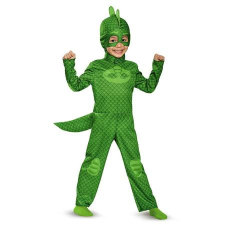 Disguise Gekko Classic Toddler PJ Masks Costume