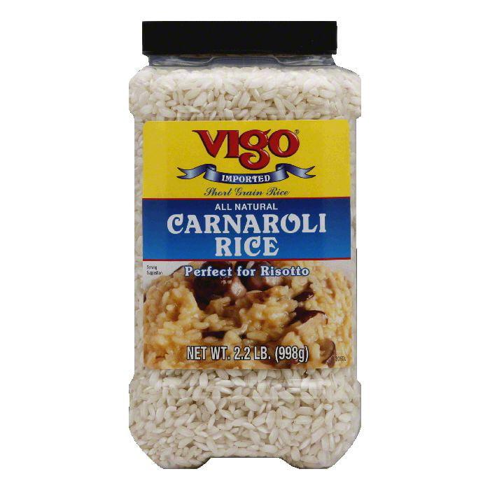 Vigo Carnaroli Rice, 1 KG (Pack of 4) by