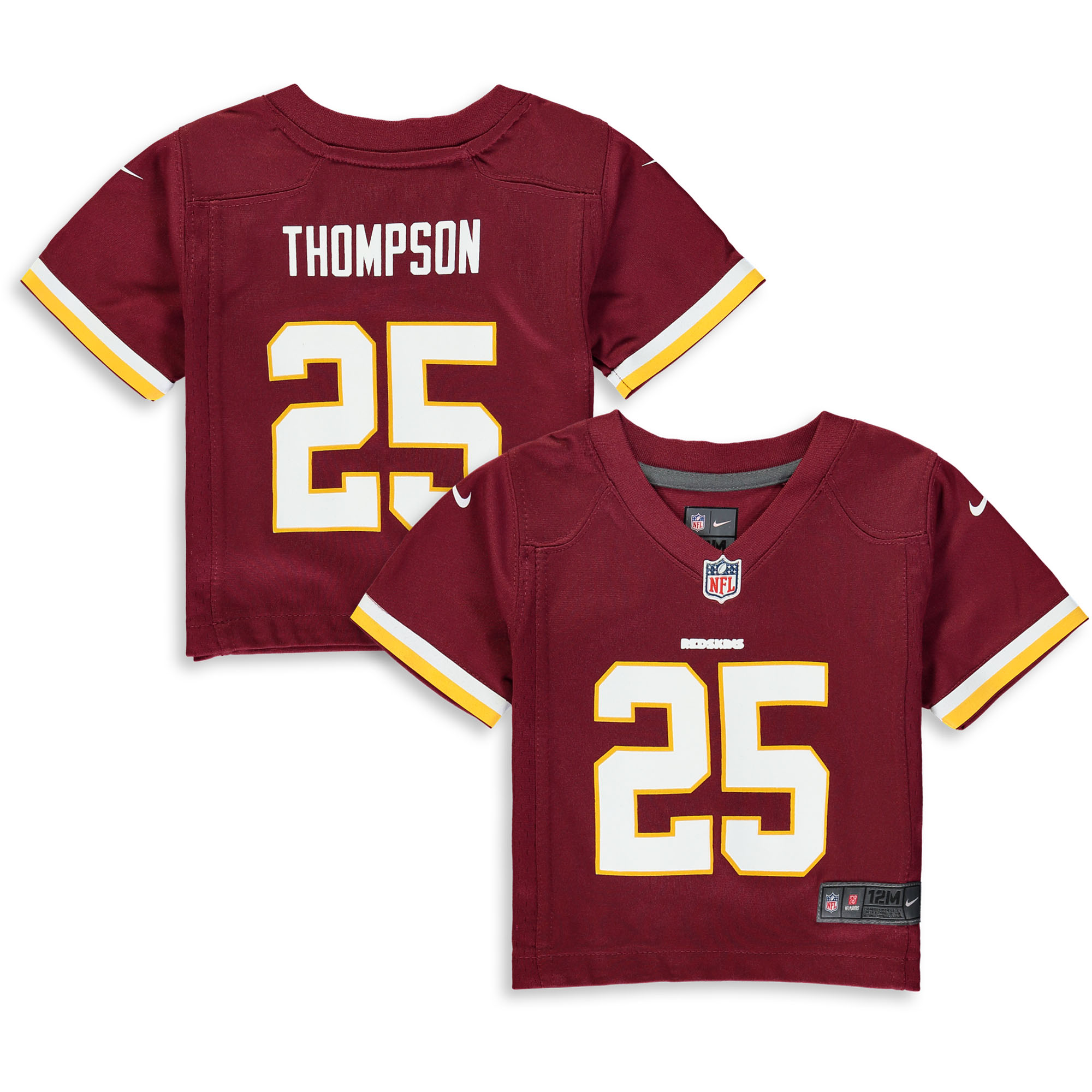 Chris Thompson Washington Redskins Nike Infant Player Game Jersey - Burgundy