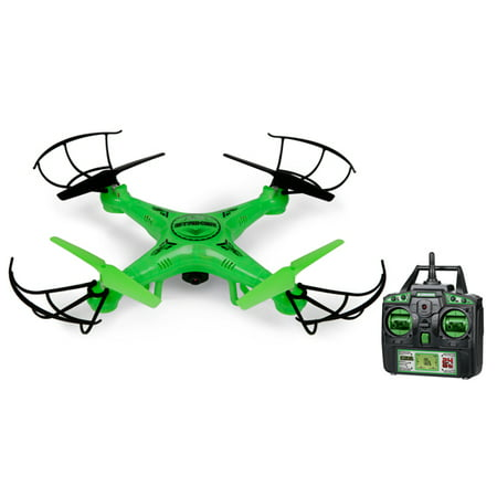 Striker Glow-In-The-Dark 2.4GHz 4.5CH Camera RC Spy Drone