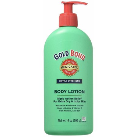 Gold Bond Body Lotion Medicated Extra Strength 14 oz (Gold Bond Medicated Body Lotion)