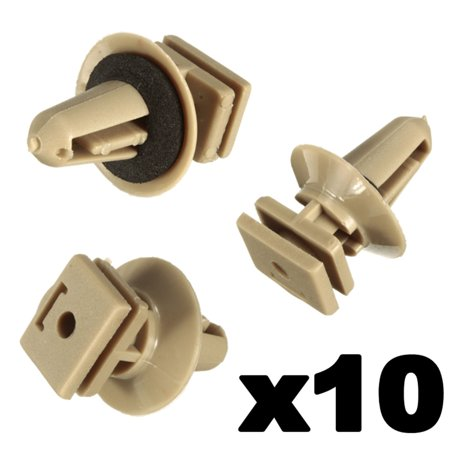 10 x Interior Plastic Clips For BMW Trims Sill Door Entrance Bottom 51477117532 - image 6 of 7