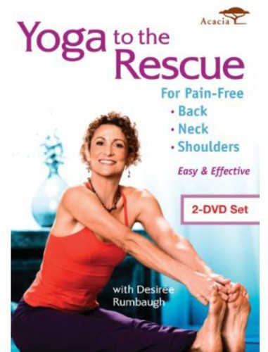 Yoga To The Rescue For Pain Free Back, Neck & Shoulders (Widescreen) by Acacia
