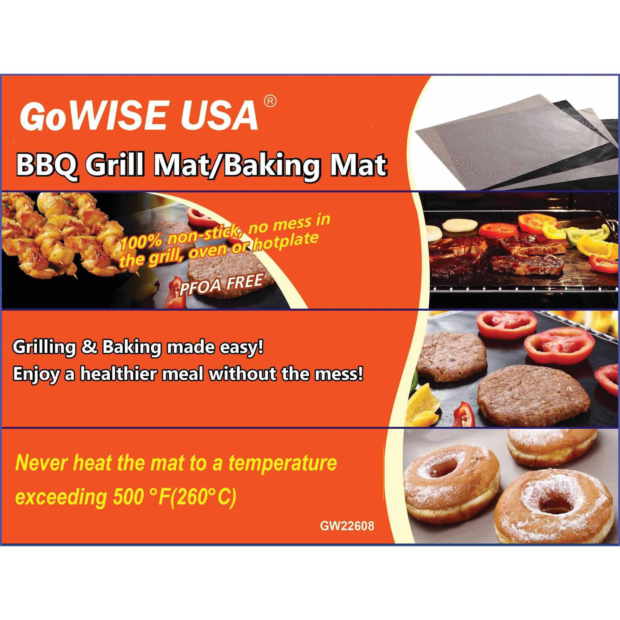 Ming's Mark GW22608 BBQ Grill and Baking Mat Set