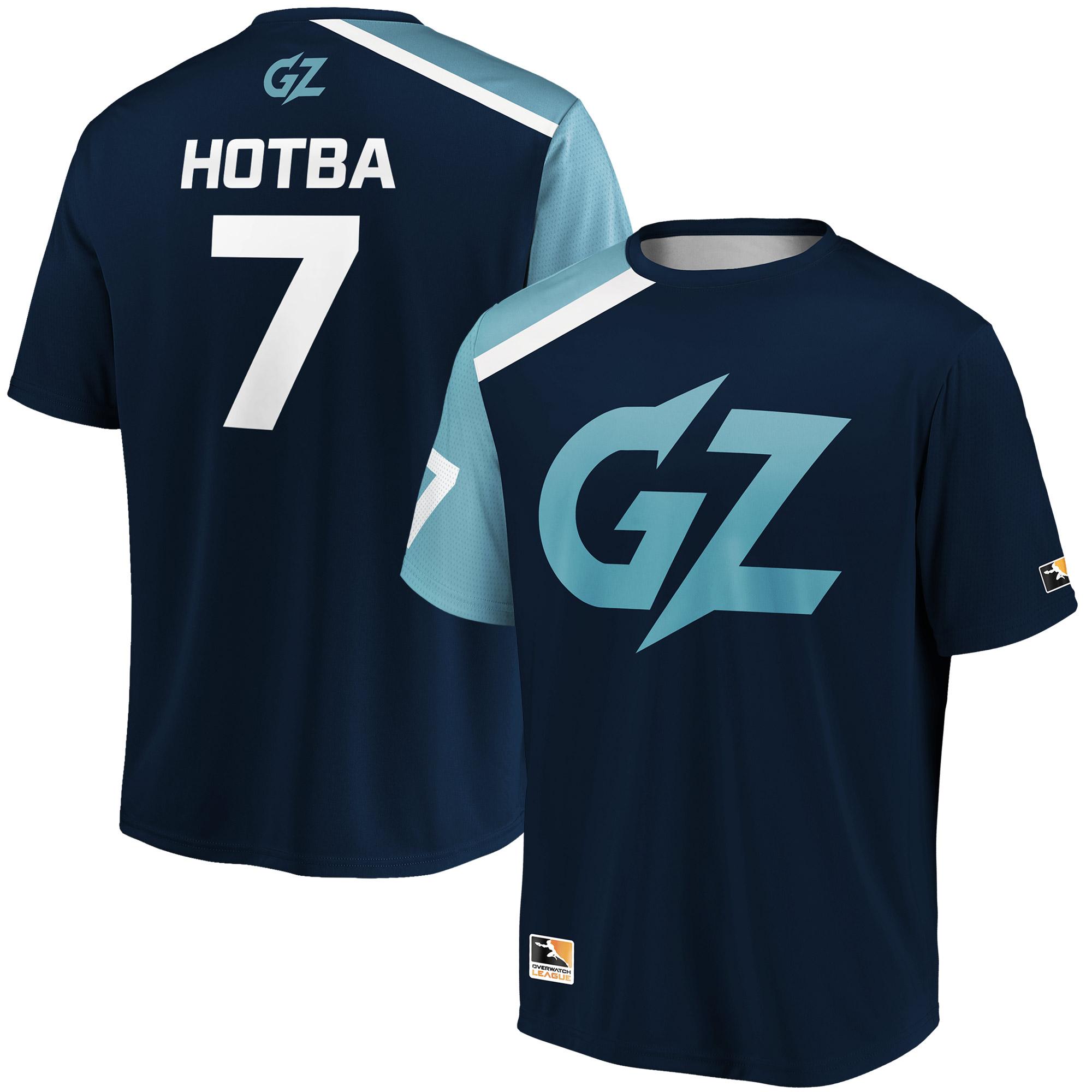 HOTBA Guangzhou Charge Overwatch League Replica Home Jersey - Navy