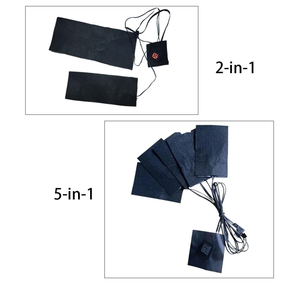 OWSOO Gilet Chauffant Chargement USB Intelligent 3vitesses Temp/érature r/églable R/échauffeur /électrique Gilet Thermique R/échauffeur Chauffant Hiver Conception /à glissi/ère pour Hommes Femmes Cadeau /âg/&ea
