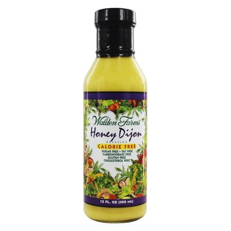 (2 Pack) Walden Farms Sugar Free Honey Dijon Dressing, 12 Fl Oz