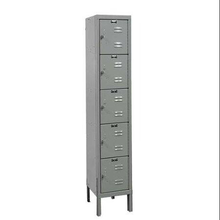 Box Locker, Gray ,Hallowell, U1226-5A-HG