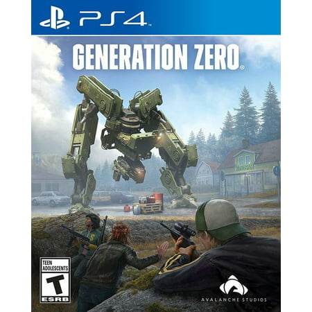 Generation Zero, THQ Nordic, PlayStation 4,