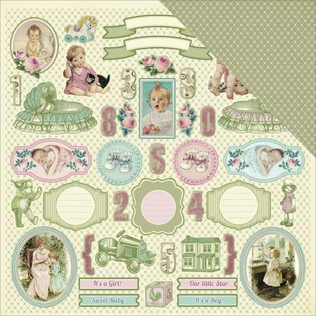 Cardstock Treasures - Scrapberry's Mother's Treasure Double-Sided Cardstock 12