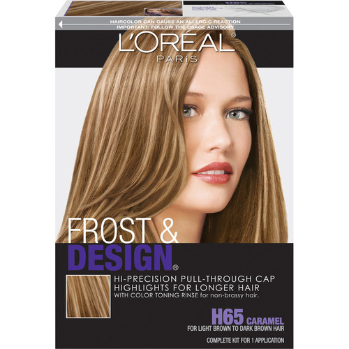 L'Oreal Paris Professional Techniques Frost & Design, Caramel, 1-Count []