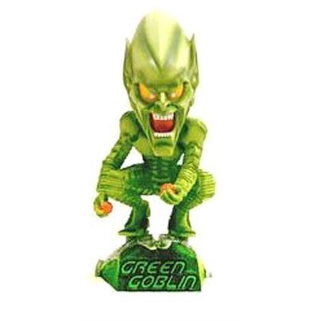Green Spiderman Costume (NECA Head Knockers SpiderMan Movie Green Goblin by)