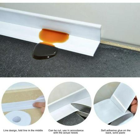Waterproof Mildewproof Bathroom PVC Sealing Tap Kitchen Sealing Sticker Home Decoration - image 3 de 6