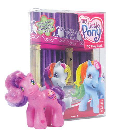 My Little Pony PC Play Pack PLUS Exclusive SPARKLEBERRY SWIRL Baby Pony Toy  - Walmart.com - Walmart.com