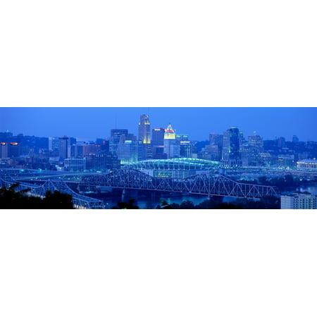 Cincinnati Ohio Usa Framed (Cincinnati Ohio USA Poster)