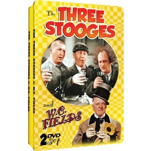The Three Stooges & W.C Fields (Collectible Tin Packaging) by Timeless Media Group
