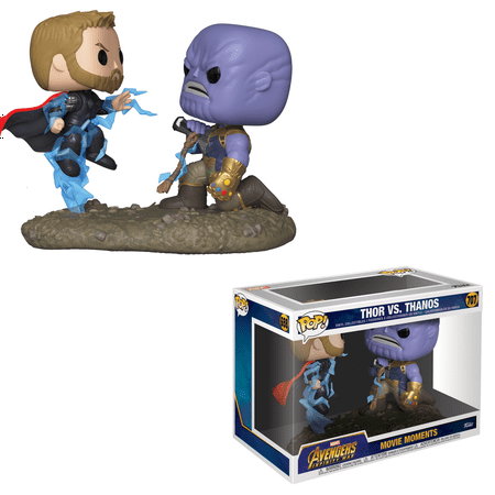 Funko POP! Movie Moments: Marvel - Thor vs Thanos