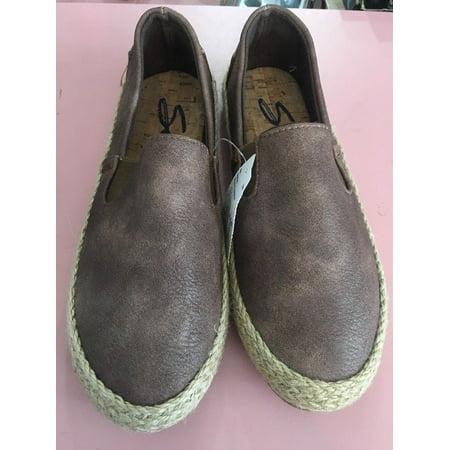 Mocha Suede Footwear - Seven 7 Footwear Cape Verde Espadrilles - Mocha Size 10 Women's Shoes BRAND NEW