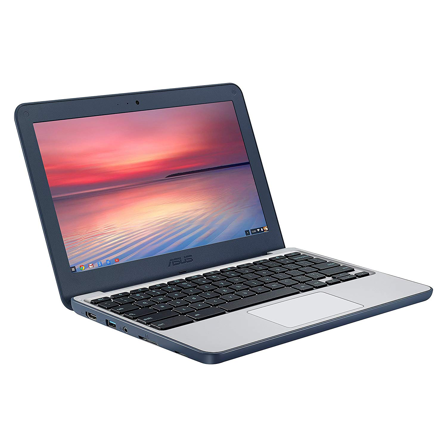"Asus C202 C202SA-YS04 11.6"" LCD Chromebook - Intel Celeron N3060 Dual-core (2 Core) 1.6GHz - 2GB LPDDR3 - 16GB Flash Memory - Chrome OS"