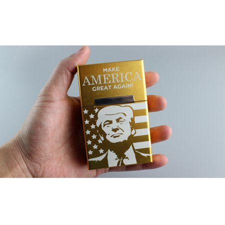 Aluminium Alloy Cigarette Case Magnetic Buckle Cigar Tobacco Holder Pocket Box Storage Container