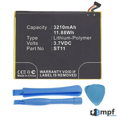 58-000127, 26S1009, ST11 Battery for Amazon Kindle Fire HD 8 SG98EG 5th Gen ()