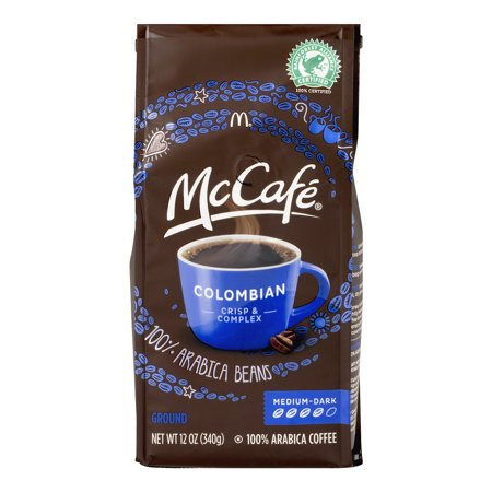 McCafe Colombian Medium-Dark Roast Ground Coffee, 12 OZ (340g)