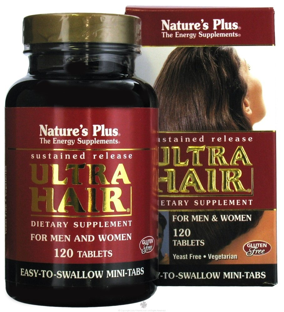 Nature's Plus - Ultra Hair Sustained Release Mini-Tabs - 120 Tablets