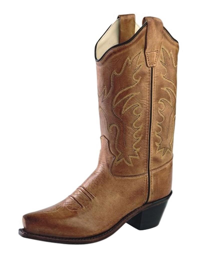 Old West Unisex Children's Western Snip Toe Fashion Boot - Child