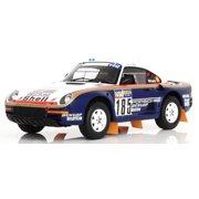 1986 Porsche 959/50 #185 Dakar Rally Raid/Ickx/Brasseur 2nd Place 1/18 by True Scale Miniatures