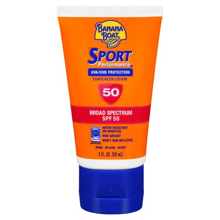 Banana Boat Ultra Sport Sunscreen Lotion SPF 50+, 2 Oz